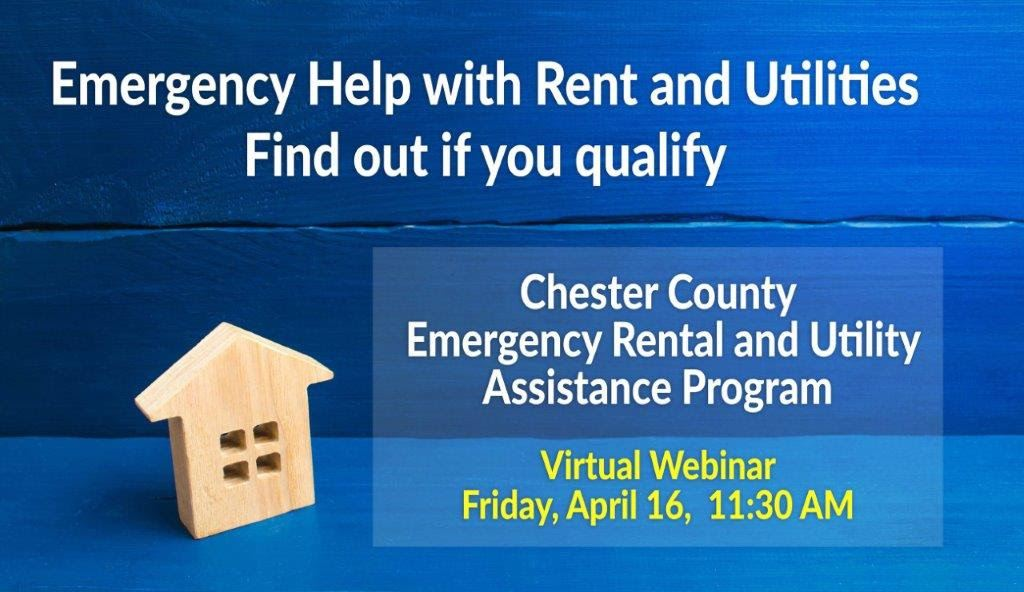Rental Assitance webinar Chester County